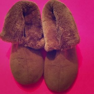 Comfy Brown Slippers
